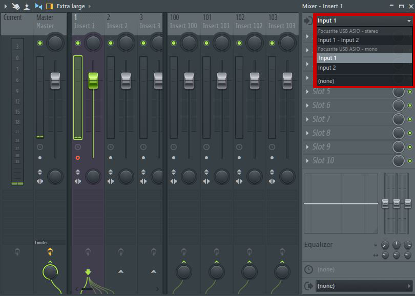 Using your Focusrite USB Audio interface with FL Studio on
