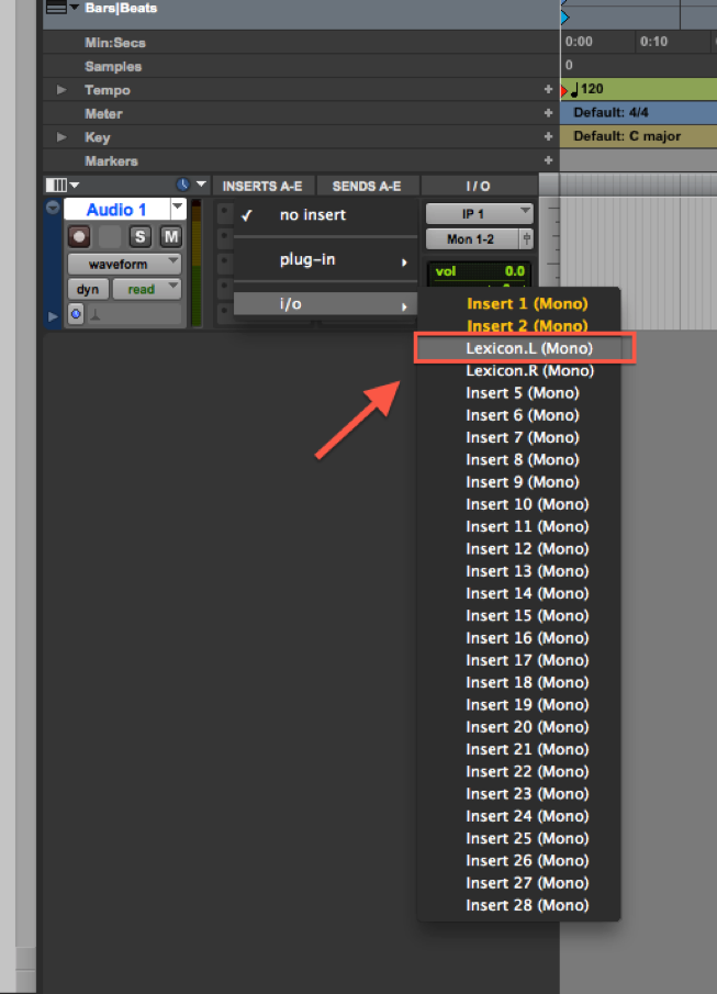 How do I create a Hardware Insert in Pro Tools? – Focusrite