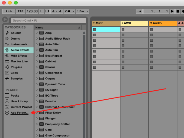 Managing files and sets — ableton reference manual version 10.