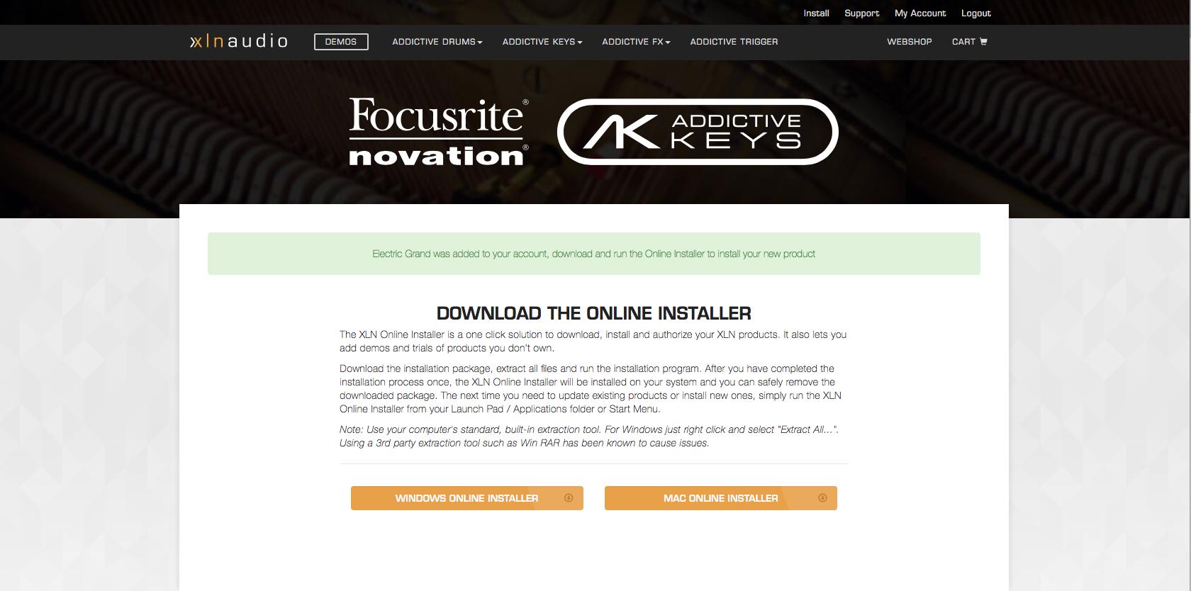 xln audio addictive keys crack download