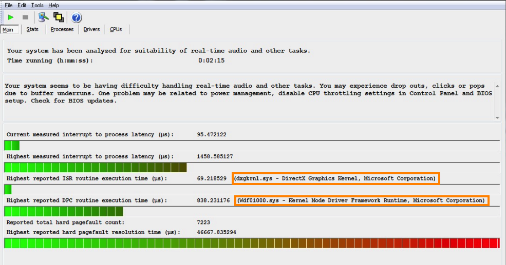 Troubleshooting DPC latency – Focusrite Audio Engineering
