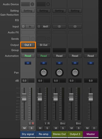 Using a Focusrite interface when re-amping guitars – Focusrite Audio